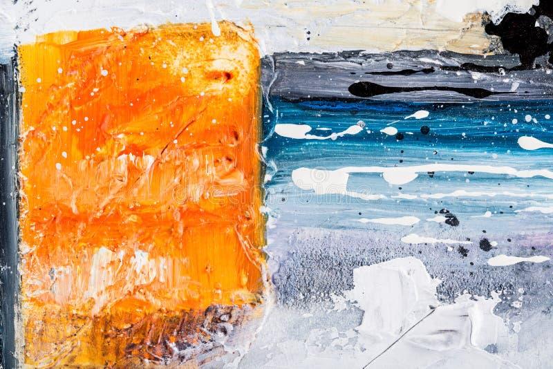 Grunge abstracte textuur royalty-vrije stock afbeelding
