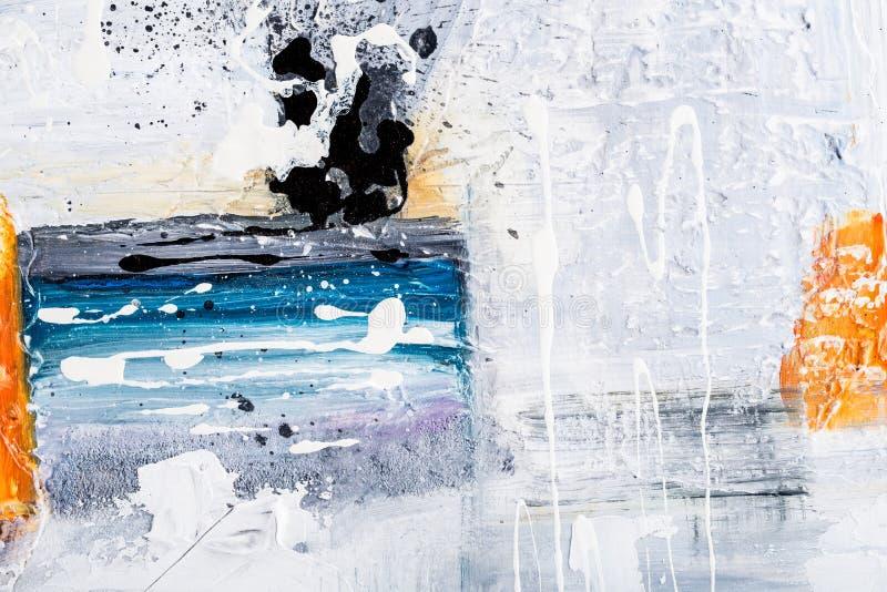 Grunge abstracte textuur royalty-vrije stock afbeeldingen