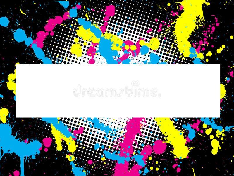 Grunge abstracto libre illustration