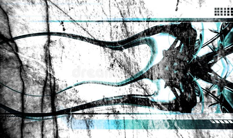 Grunge abstracto de la vendimia libre illustration