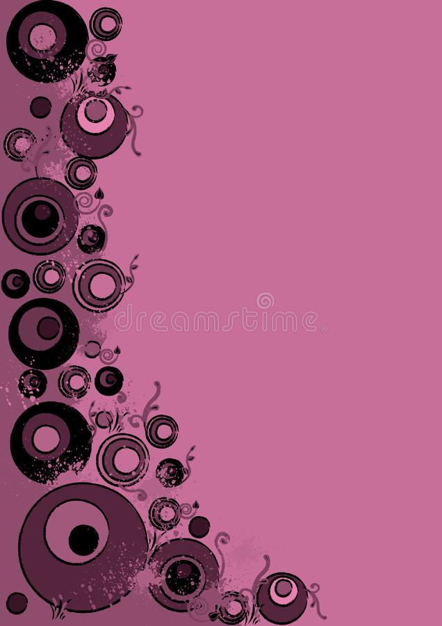 Grunge abstrait rose photos stock