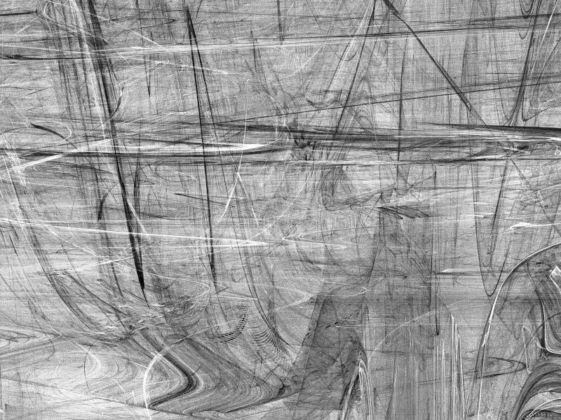 Grunge abstrakcjonistyczny czarny biały tło obrazy stock