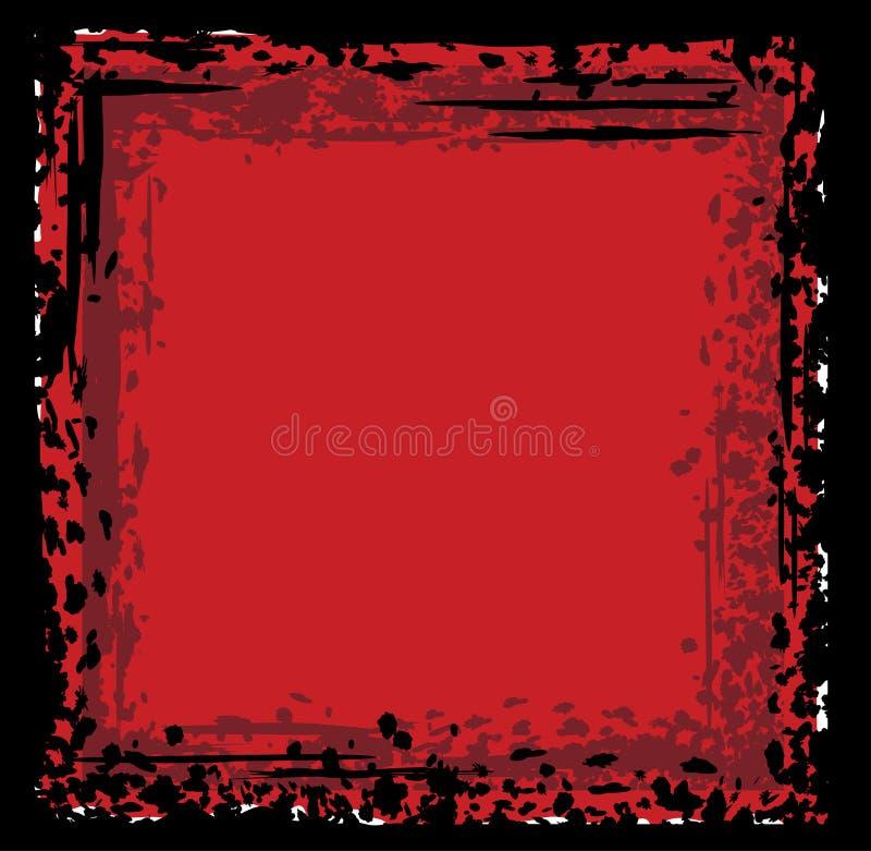 Grunge abstrakcjonistyczny tło ilustracji