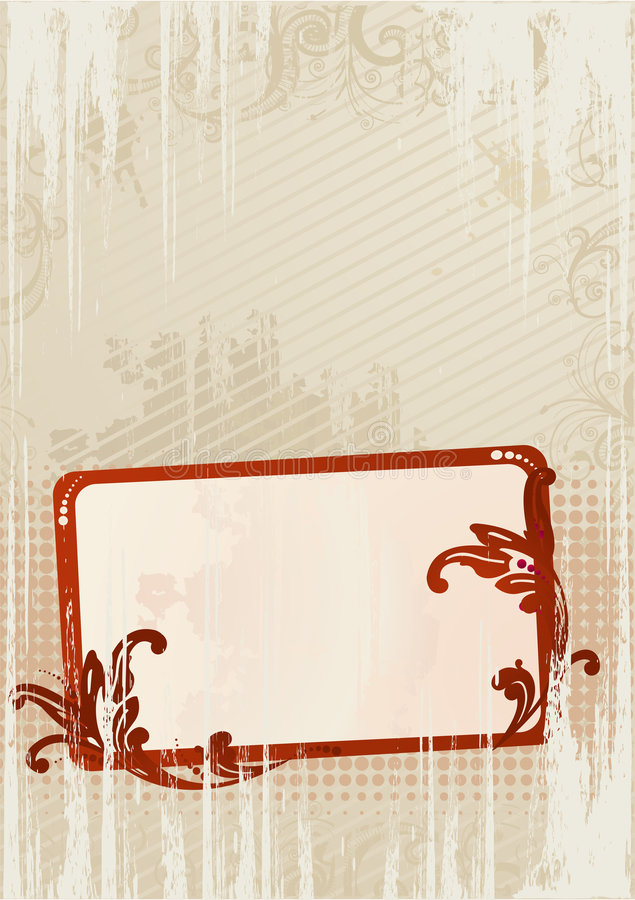 grunge abstrakcyjna tapeta wektora royalty ilustracja