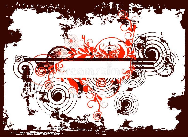 grunge abstrakcyjne tła r ilustracji