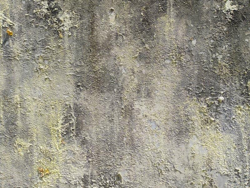 Grunge achtergrond oud geblisterd grijs geverfd oppervlak stock afbeeldingen