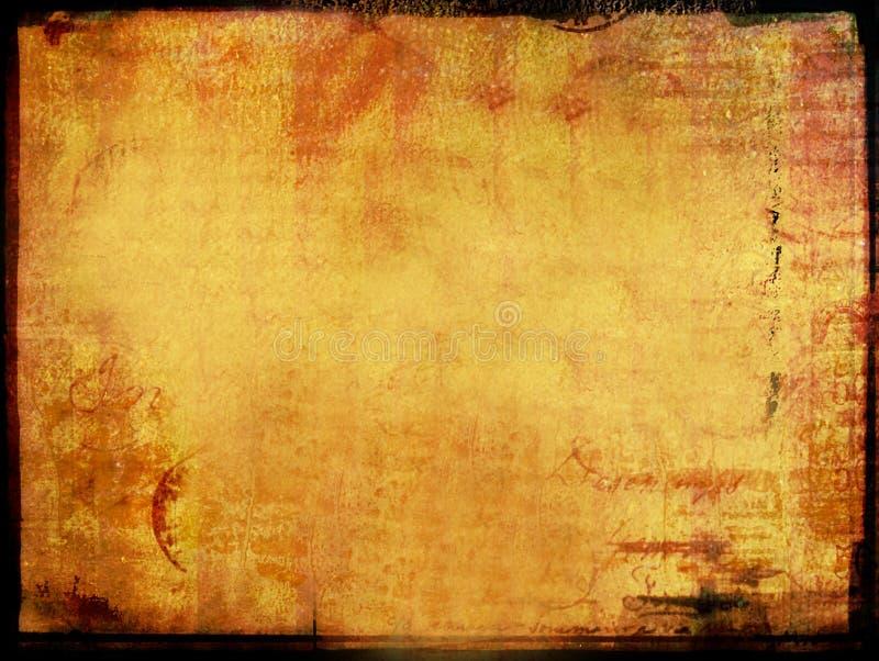 Download Grunge aged letter sheet stock illustration. Illustration of blank - 169320