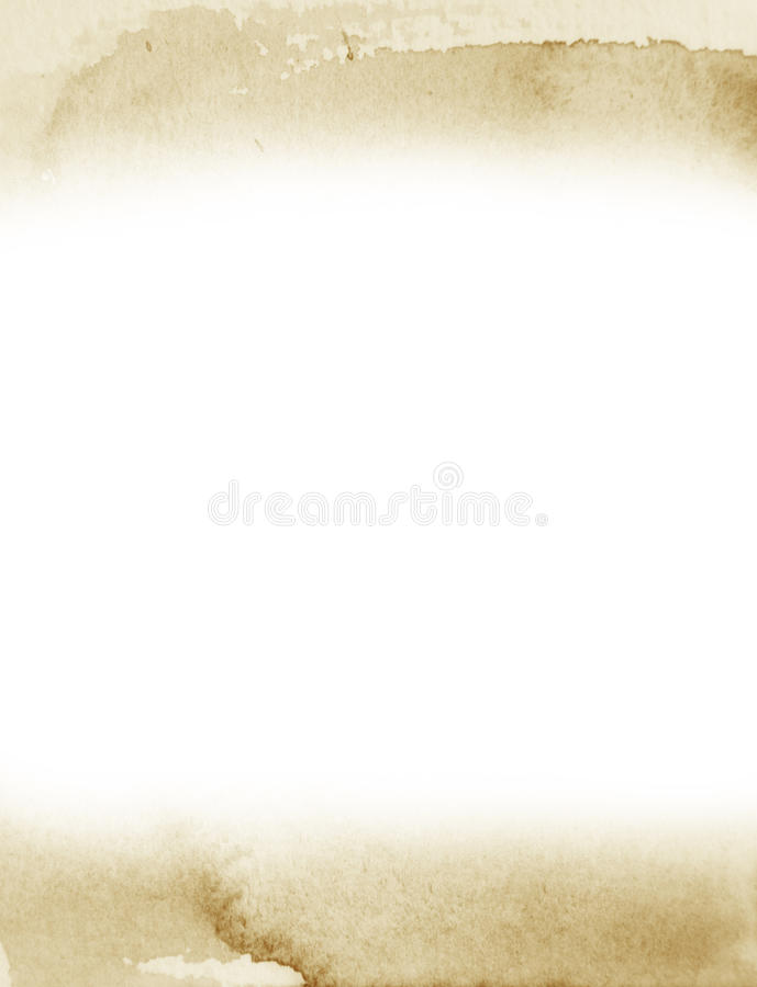 Grunge akwareli retro tło obraz royalty free