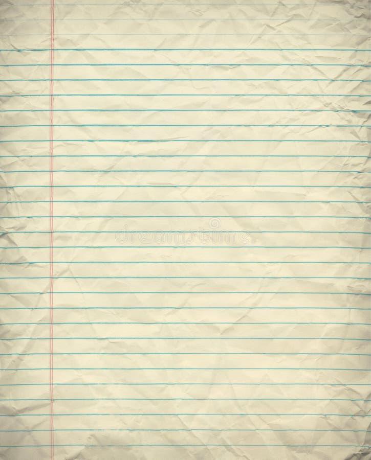 Grunge Alineó El Papel Imagen de archivo libre de regalías