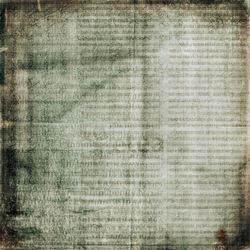 Grunge alte Papierauslegung lizenzfreie abbildung