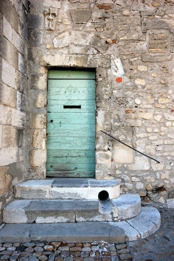 Grunge alte Tür lizenzfreies stockbild