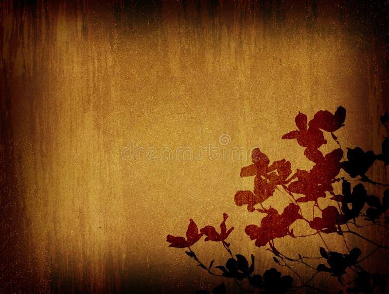 Grunge alter Papierhintergrund stock abbildung