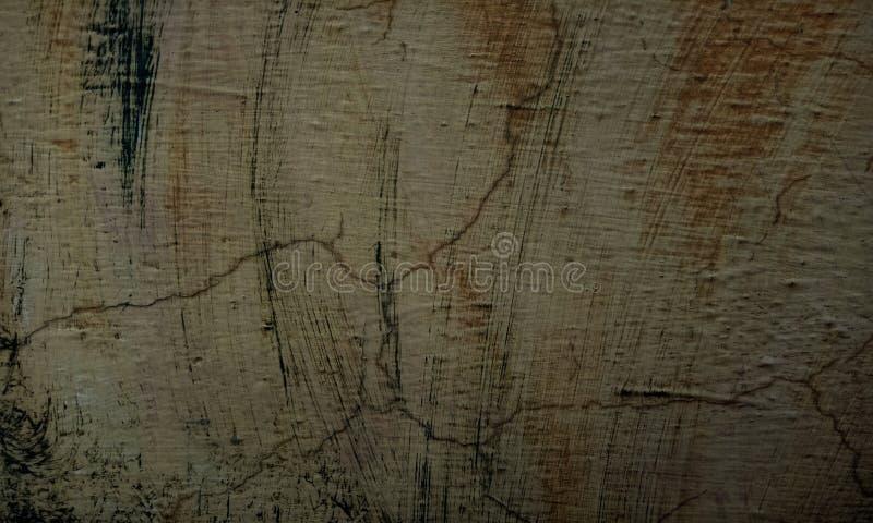 Grunge amarillo, textura blanco y negro de la pared del movimiento del cepillo del fondo concreto del piso para el extracto de la fotografía de archivo libre de regalías