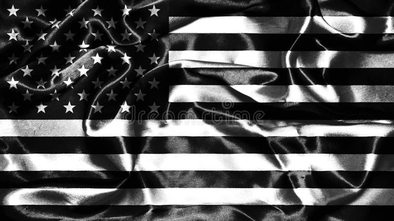 grunge amerykańskiej flagi ilustracja wektor