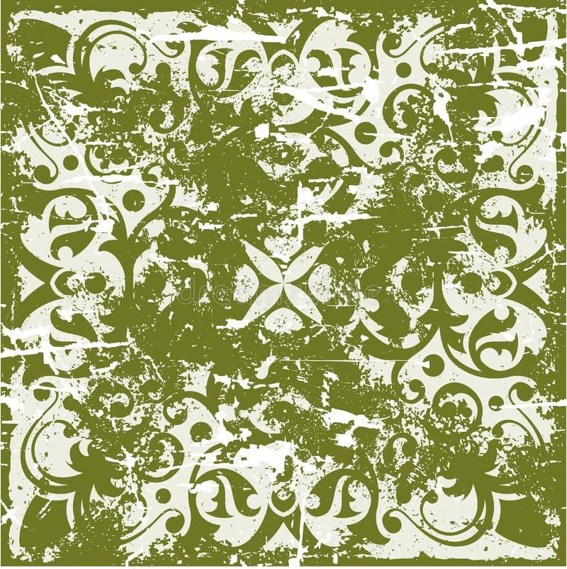 Grunge ancient pattern royalty free illustration