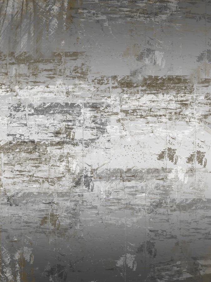 Grunge aplicó con brocha ilustración del vector