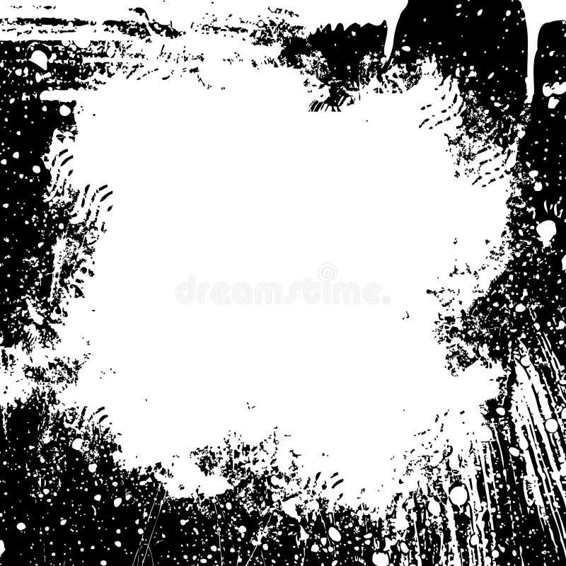 Grunge Art-Auslegungelement stock abbildung