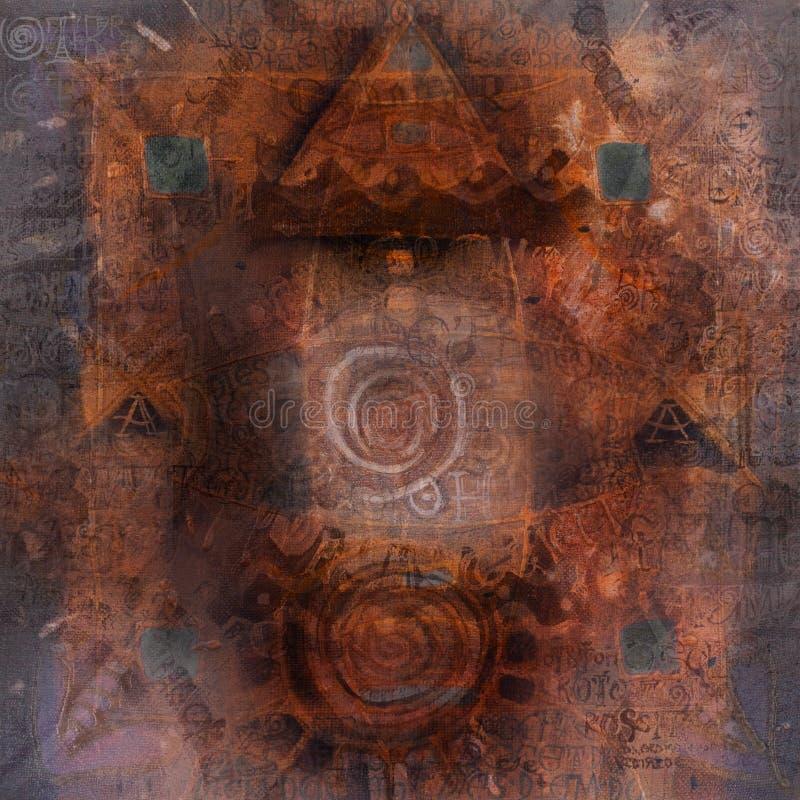 Grunge artistic background vector illustration
