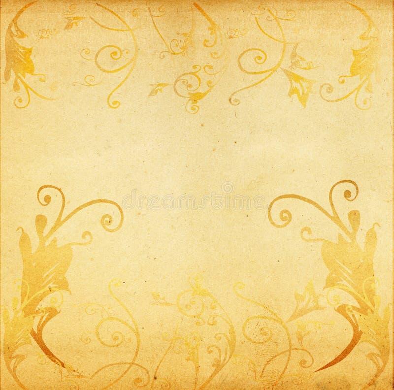 Download Grunge artistic floral stock illustration. Image of grunge - 1532732
