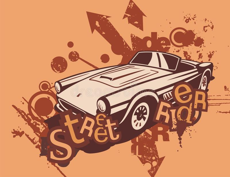Download Grunge Automotive Background Stock Illustration - Image: 17913773