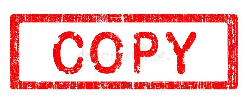 Grunge Büro-Stempel - EXEMPLAR lizenzfreie abbildung