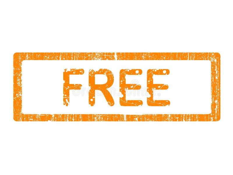 Grunge Büro-Stempel - GEBEN Sie frei stock abbildung