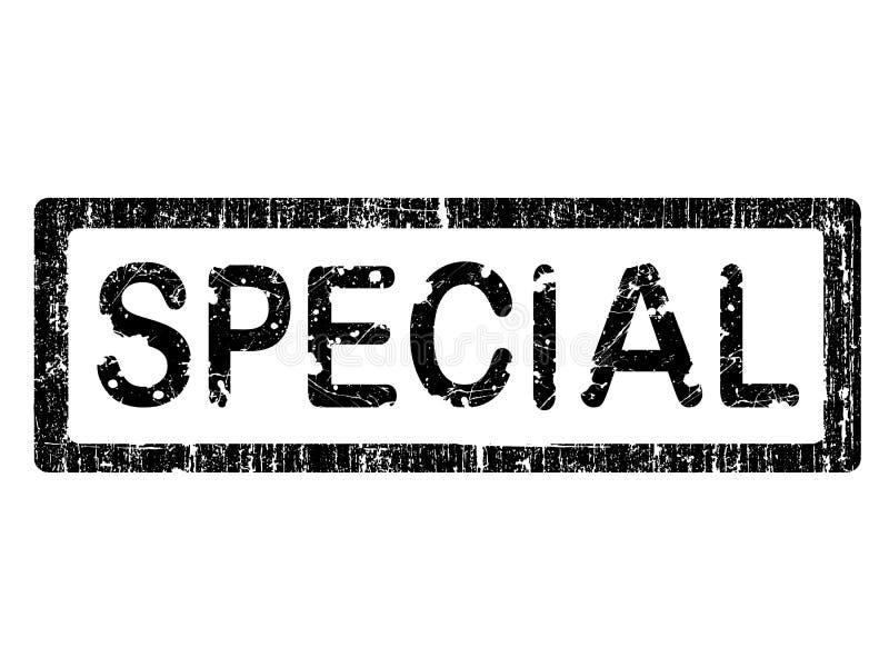 Grunge Büro-Stempel - SPECIAL lizenzfreie abbildung