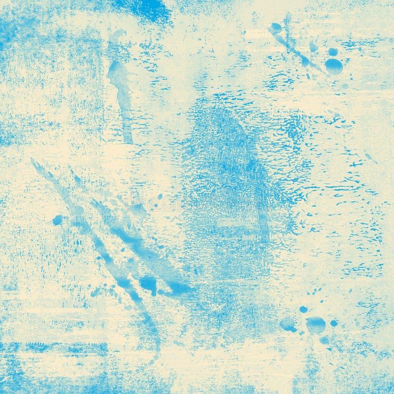 Grunge błękita tło ilustracji