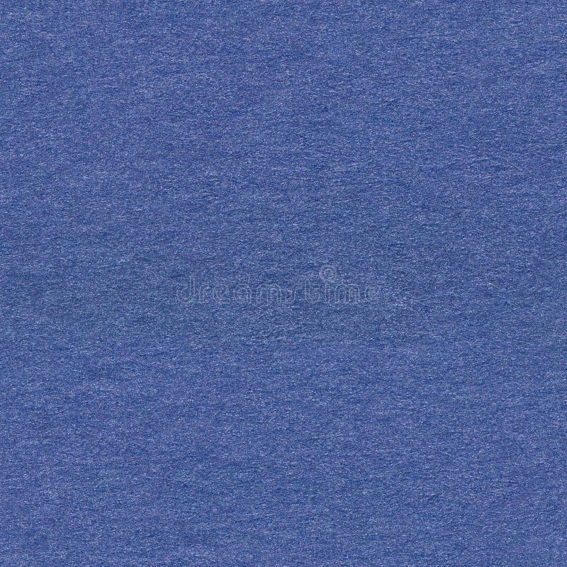 Grunge błękitnego papieru tło Bezszwowa kwadratowa tekstura, tafluje czyta fotografia stock