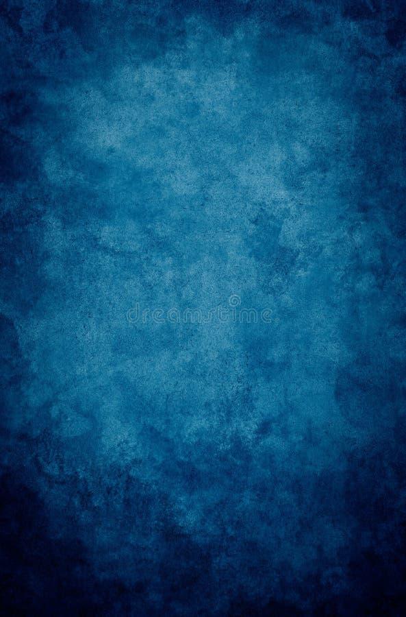 grunge błękitny winieta obrazy stock