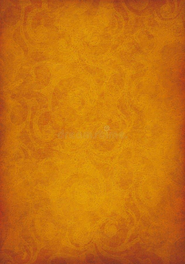 Grunge Background. A orange rusty colored rough textured grunge background