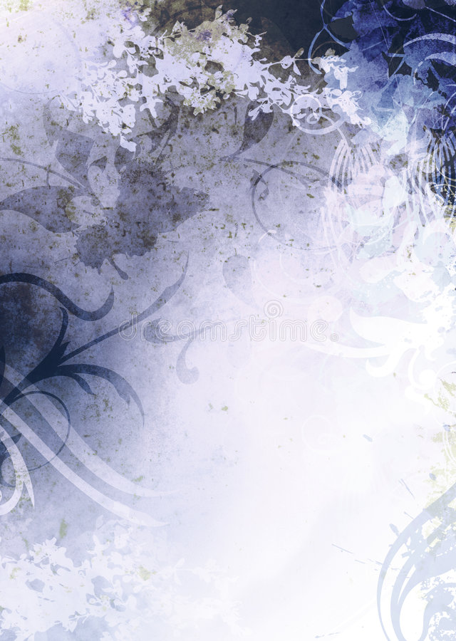 Grunge Background Blue royalty free illustration