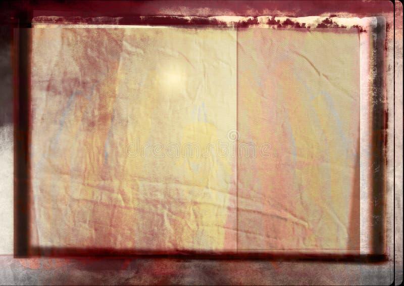 Grunge background with border royalty free illustration