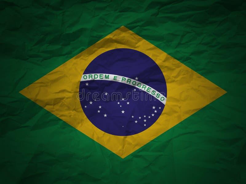 Download Grunge Background Brazil Flag Stock Illustration - Image: 4955718
