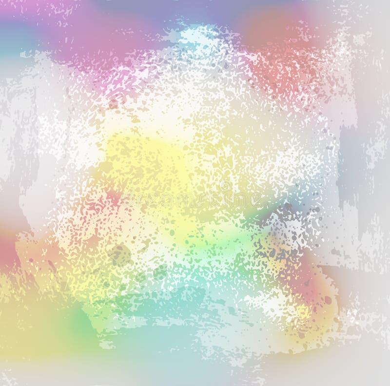 Grunge background01 da cor [convertido] ilustração royalty free