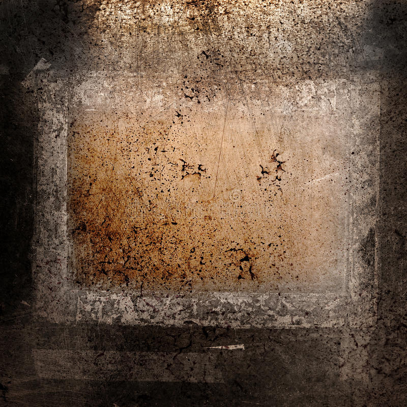 Grunge Background with frame stock photography