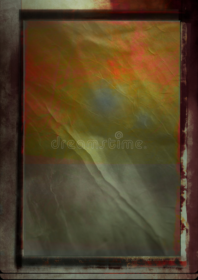 Grunge background with frame stock illustration