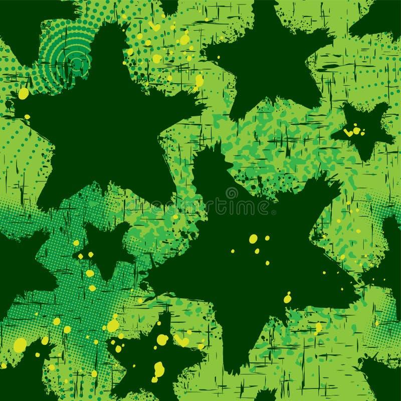 Grunge_background_green_3 ilustración del vector
