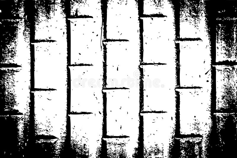 Grunge background. Grunge black and white urban vector texture template. stock images
