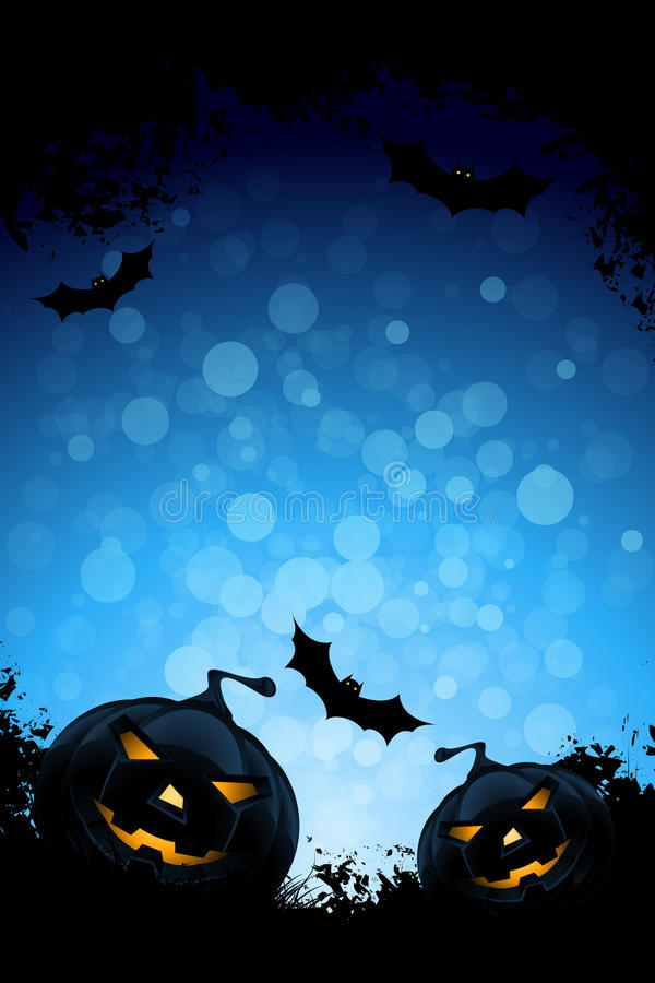 Download Grunge Background For Halloween Party Stock Vector - Image: 25747908