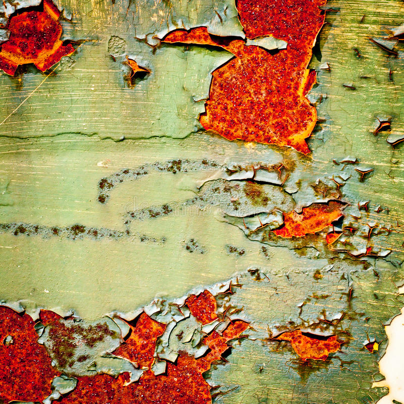 Grunge background. Old paint texture. Grunge texture background. Old paint texture. Rusty metal with peeling paint. Abstract painting royalty free stock photos