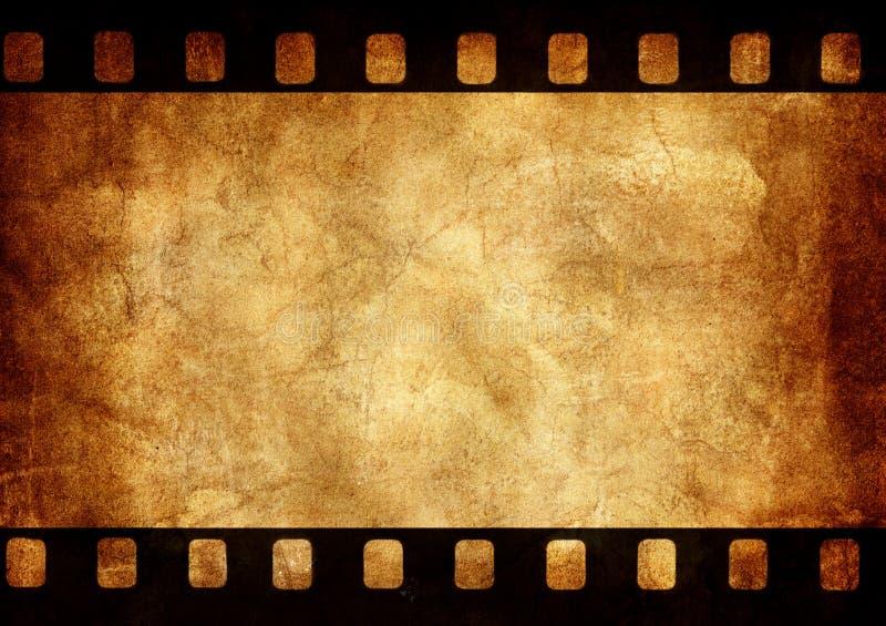 Grunge background photo frame vector illustration