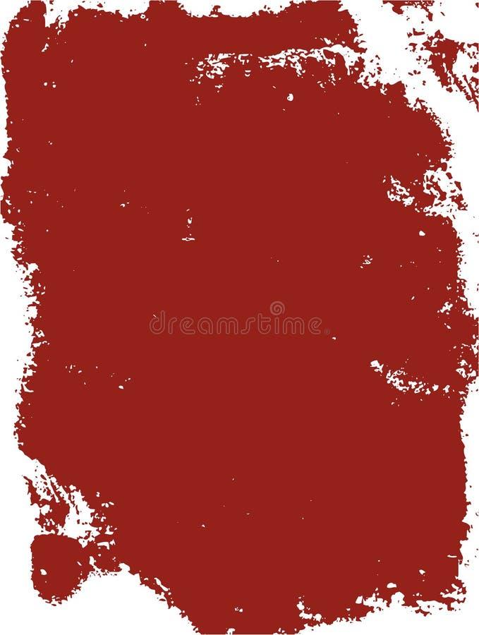 Grunge background red frame. Red grunge paper texture background vector illustration