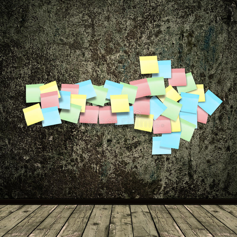 Download Grunge Background With Sticky Arrow Stock Photo - Image of parchment, nobody: 14615218