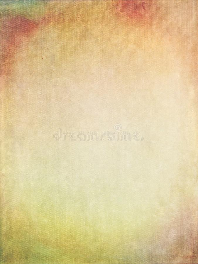 Grunge Background. A textured fabric, grunge background in muted colors royalty free stock image