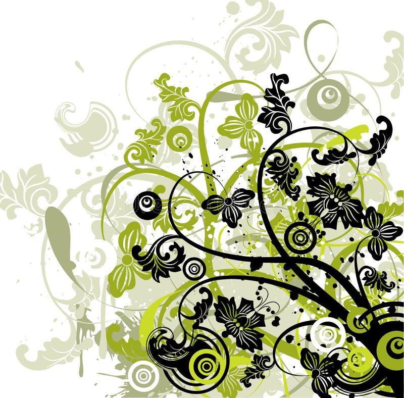 Grunge background, vector stock photo