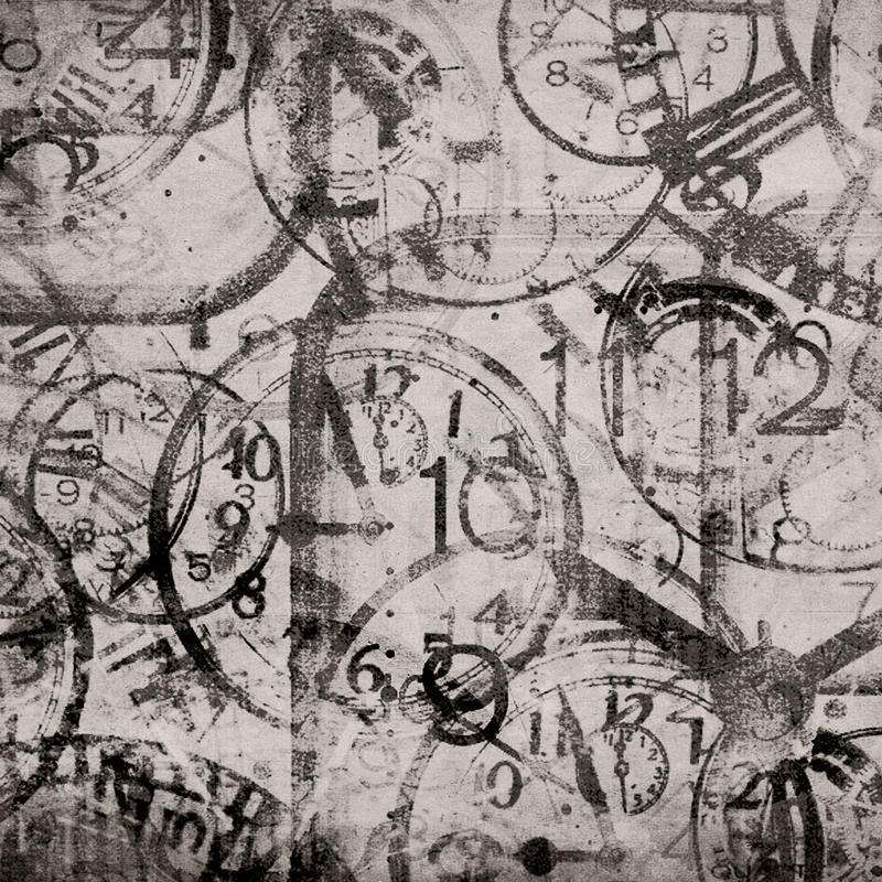 Grunge background . Watches. Time. Grunge old background . Watches. Time royalty free illustration