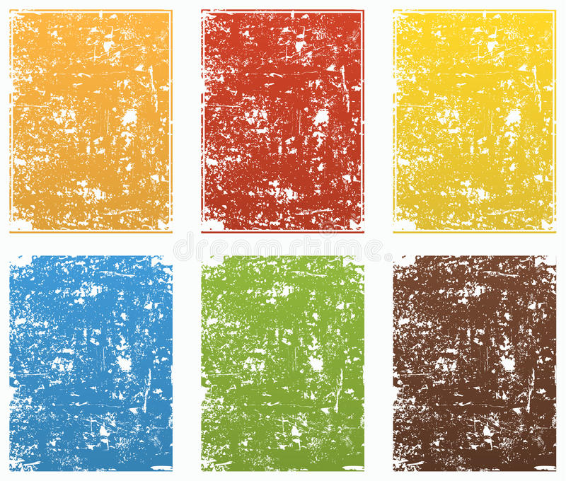 Download Grunge backgrounds stock vector. Image of damaged, stained - 9756583