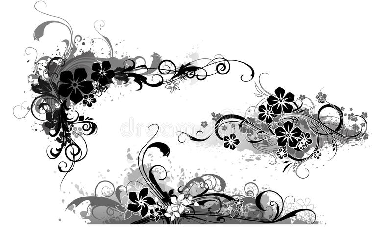 Download Grunge banner_64 stock vector. Image of plant, paint - 16047846