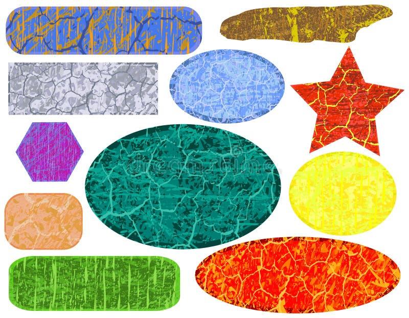Grunge banners vector illustration